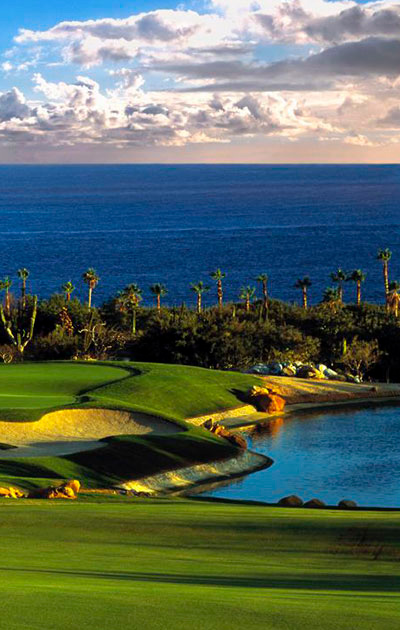 Golf course in Los Cabos